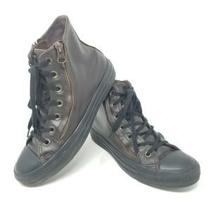 Converse Chuck Taylor All Star Hi Leather Shoes